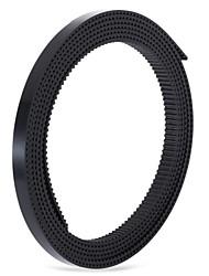 gt2 Anet calendário cinto para impressora 3D - preto