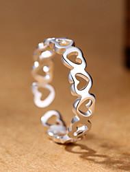 Ringe Party Besondere Anlässe Alltag Normal Schmuck Kupfer Ring 1 Stück,Eine Größe Weiß