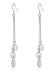 Drop Earrings Fashion Sterling Silver Jewelry For Daily Casual 1 pair