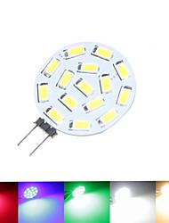 8W G4 Lâmpadas de Foco de LED MR11 15 SMD 5630 700-900 lm Branco Quente / Branco Natural / Vermelho / Azul / Verde Regulável30/9 / DC 12