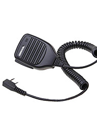 KMC-21 Shoulder Speak Mic for Motorola KENWOOD Walkie Talkie with Clip