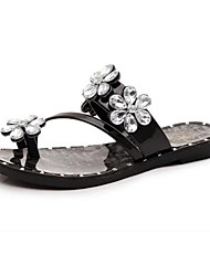 Feminino-Chinelos e flip-flops-Conforto-RasteiroCouro Ecológico-Casual