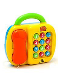 Telefones de Brinquedo Decoração Para Festas Quadrangular Plástico Arco-Íris 5 a 7 Anos 8 a 13 Anos