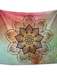 Mandala Printed Tapestries Decorative Indian Wall Carpet Tapesty
