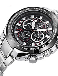 Sport Watch Fashion Watch Wrist watch Quartz Alloy Band Silver