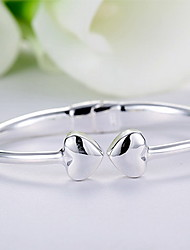 Bracelets Rigides Naturel Simple Style Argent sterling Forme d'Animal Bijoux Papillon Bijoux Pour