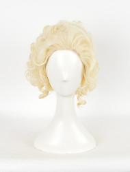 Europa e novos antoinette rainha curto Culy perucas cosplay halloween marie