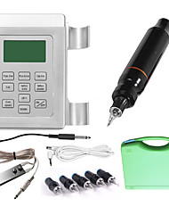 Complete Tattoo Kit 1 rotary machine liner & shader 1 Tattoo Machines LED power supply Inks Shipped Separately