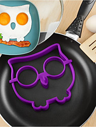 Breakfast Silicone Owl Fried Eggs Fun Cute Mold DIY Omelette Device Cooking Tools  Children Kid Gift