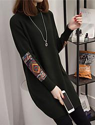 2017 весной новый длинный отрезок хеджирование свитер женский корейский свободные свитера толстой осенью и зимой