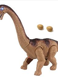 Electric Toy Dragon Dinosaur Model Brachiosaurus Egg Laying Robot 2.4G Walking Kids' Electronics