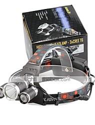 U'King Lanternas de Cabeça LED 4000 Lumens 4.0 Modo Cree XP-G R5 Cree XM-L T6 Baterias não incluídas Tamanho Compacto Fácil de Transportar