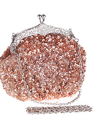 Women Sequin beads Formal Event/Party Wedding Evening Bag Clutch