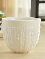 1 Pcs Ceramic Serving Dishes Dinnerware Woolen Shapes Cups