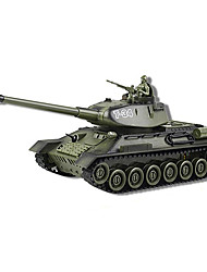 Russia's Remote Tank T34 Luxuriously Infrared Remote Control Against a Undertakes to Take Charge