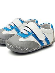 Baby Mädchen Flache Schuhe Lauflern Kunstleder Sommer Normal Walking Lauflern Klettverschluss Niedriger Absatz Kaffee Blau Rosa Flach