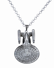 Муж. Ожерелья с подвесками Бижутерия Геометрической формы анкер Сплав Уникальный дизайн С логотипом В виде подвески Бижутерия Назначение