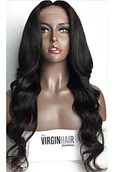 Human Hair Lace Wigs Brazilian Human Hair Full Lace Human Hair Wigs For Blank Woman Wave Wigs 100% Virgin Human Hair Wig with Baby Hair