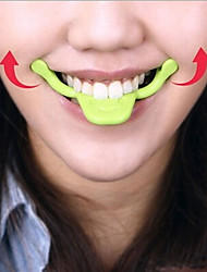New smile trainer Silicone Smile Brace Face Line Muscles Stretching Lifting Training Mouth smile maker Facial Messager(1PCS)