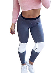 Comfortable Breathable Stitching Yoga Fitness Sports Pants 1pc