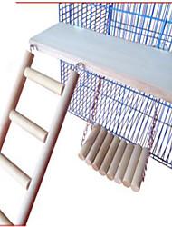 Vogel Vogelspielzeug Holz Beige