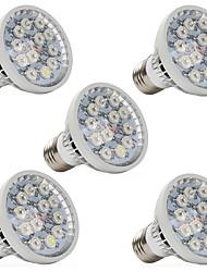 12W E14 GU10 E27 Lampes Horticoles LED 12 LED Haute Puissance 290-330 lm Blanc Chaud Rouge Bleu UV (Lumière Noire) V 5 pièces