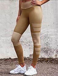 Femme Croisé Legging,Polyester Spandex
