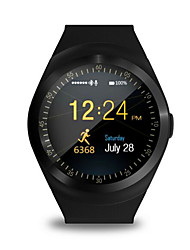 MTK626 IPS Circular Screen Card Pedometer Health Monitoring To Track The Movement Of Information Push Smart Reminder Bluetooth Watch