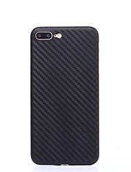 Pour Ultrafine Coque Coque Arrière Coque Couleur Pleine Dur Polycarbonate pour AppleiPhone 7 Plus iPhone 7 iPhone 6s Plus/6 Plus iPhone