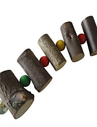 Bird Toys Wood Multi-Color