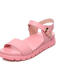 Sandals Summer Novelty Slingback Gladiator Club Shoes Couple Shoes Comfort CowhideWedding Outdoor Office & Career Dress Casual Athletic