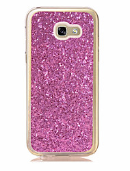 For Samsung Galaxy A3(2017) A5(2017) Case Cover Other Back Cover Glitter Shine Soft TPU
