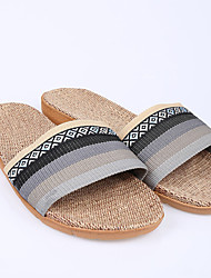 Modern/Contemporary House Slippers Men's Slippers Gray