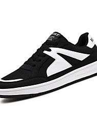 New Men's Sneakers Spring Comfort PU Outdoor Casual Flat Heel Lace-up Shoes The New Cool Way
