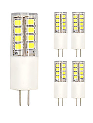 10PCS G4 26LED SMD2835 AC/DC12V 7W 1200lm Warm White/White Double pin The Dimmer ceramic lamp