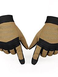 de cuero sintético guantes / portátiles unisex de caza