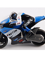 Motorcycle JJRC 1:16 Gas RC Car AM Blue Ready-To-Go Remote Control Car