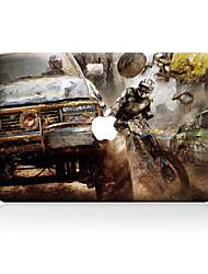 For MacBook Air 11 13/Pro13 15/Pro with Retina13 15/MacBook12  Car Crash Decorative Skin Sticker