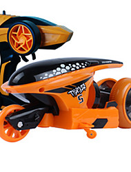 Motorcycle JJRC 1:12 Gas RC Car Orange Ready-To-Go Remote Control Car