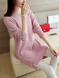 4339 # длина пряжки кромка свитер хеджирования длинными рукавами свитер