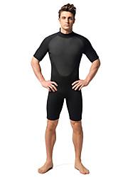 MYLEDI Men's 3mm Wetsuits Shorty Wetsuit Thermal / Warm Wearable YKK Zipper Neoprene Diving Suit Diving Suits-Swimming DivingSpring