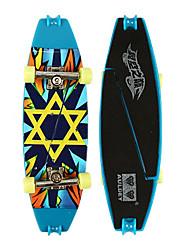Mini Skateboards & Bikes Leisure Hobby Skate ABS Plastic Blue For Boys For Girls