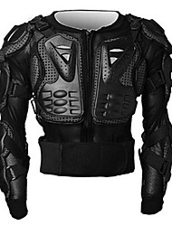 H-LIFE F014 Motorcycle Protective Jacket Motorcycle Body Armor Black Red