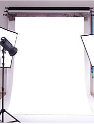 3x5ft effen witte dunne vinyl fotografie achtergrond studio prop foto achtergrond