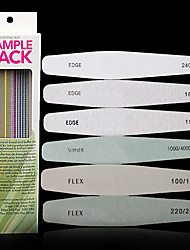 6Pcs/Set Sponge nNail File Manicure Luxury Manicure Tools
