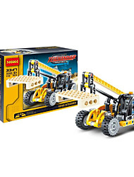 Building Blocks For Gift  Building Blocks Model & Building Toy Forklift 5 to 7 Years 8 to 13 Years 14 Years & Up Yellow Toys