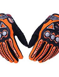 pro-motards mcs-23 sécurité complète doigt gants sécurité protection protection vélo vélo course de moto-vent résistant à l'usure - une