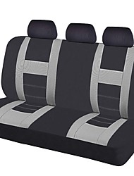 2017 Universal Car Seat Covers Black Gray Color Rear Seat Covers