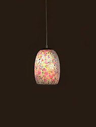 Pendant Light ,  Traditional/Classic Tiffany Vintage Painting Feature for Mini Style Metal Living Room Bedroom Dining Room