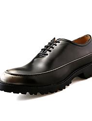 мужские оксфорды весна лето осень зима комфорт кожи наппа свадебный офис&карьеры случайный участник&вечер металлический носок